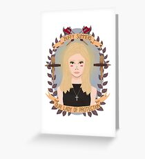 Buffy Summers Greeting Card