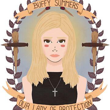 Buffy Summers by heymonster