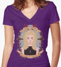 Buffy Summers Women's Fitted V-Neck T-Shirt