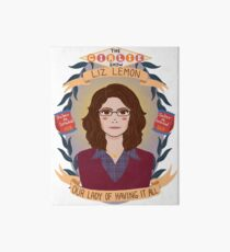 Liz Lemon Art Board