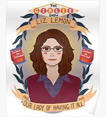 Liz Lemon Poster