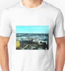 Winnipeg from Above in the Winter T-Shirt