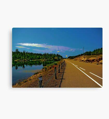 Dixie Lake Canvas Print
