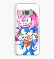 Sonic Boom - Sonic & Amy Rose (Sonamy) Samsung Galaxy Case/Skin