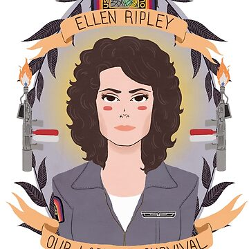 Ellen Ripley by heymonster