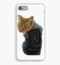Iron Maiden Cat iPhone Case/Skin