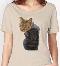 Iron Maiden Cat Women's Relaxed Fit T-Shirt