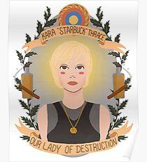 Kara Thrace Poster