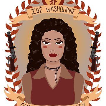 Zoe Washburne by heymonster