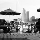 Coffee in Chicago by Nenad  Njegovan