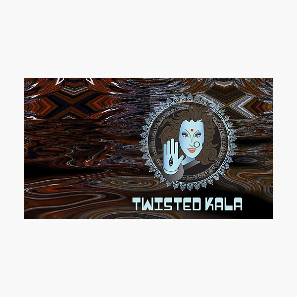 Twisted Kala Psychedelic - Magic Blessings! Photographic Print