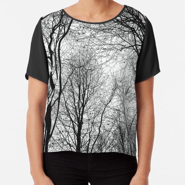 Tree Silhouette Series 6 Chiffon Top