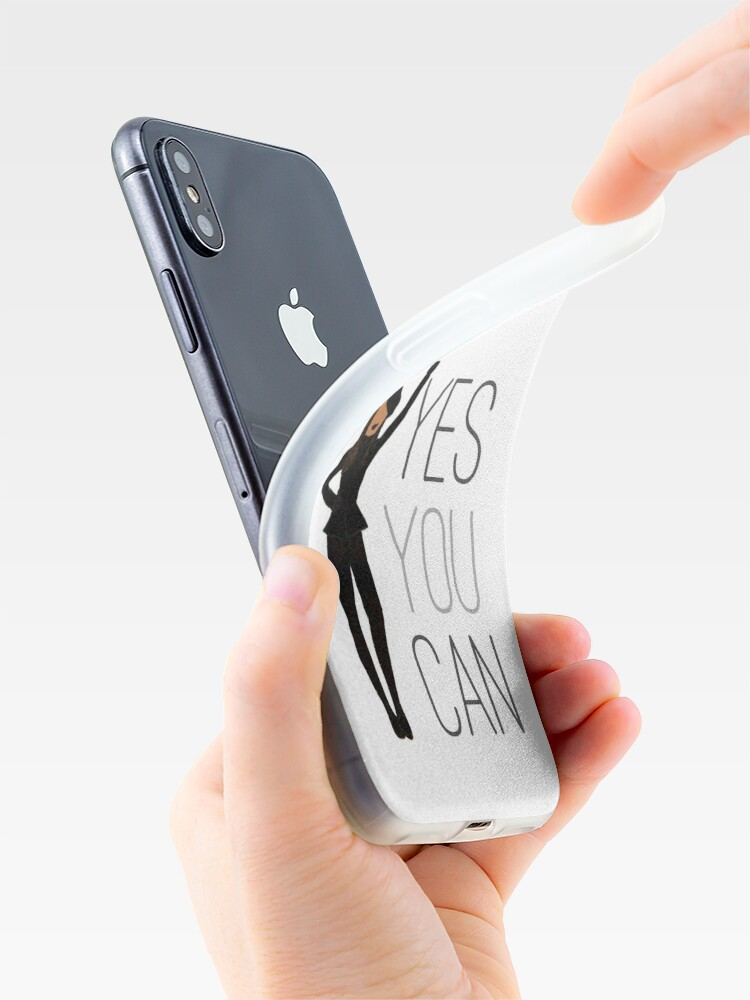 Alternate view of Yes You Can iPhone Case & Cover