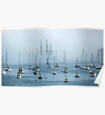 Sailing into the Fog   Poster