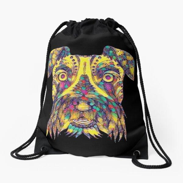 ★ Puppy Art Drawstring Bag