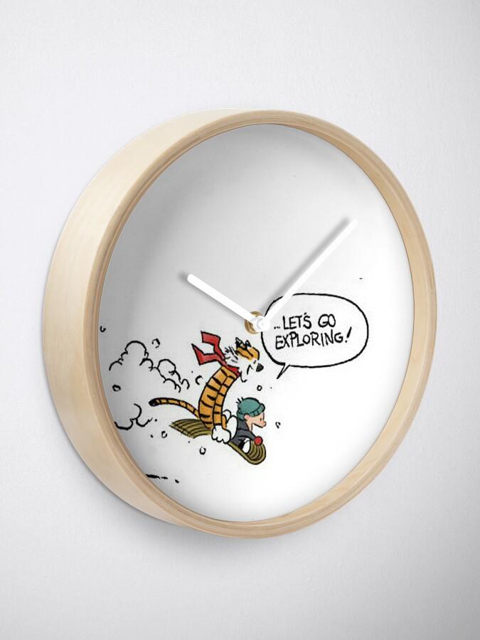 Alternate view of Calvin and Hobbes Clock