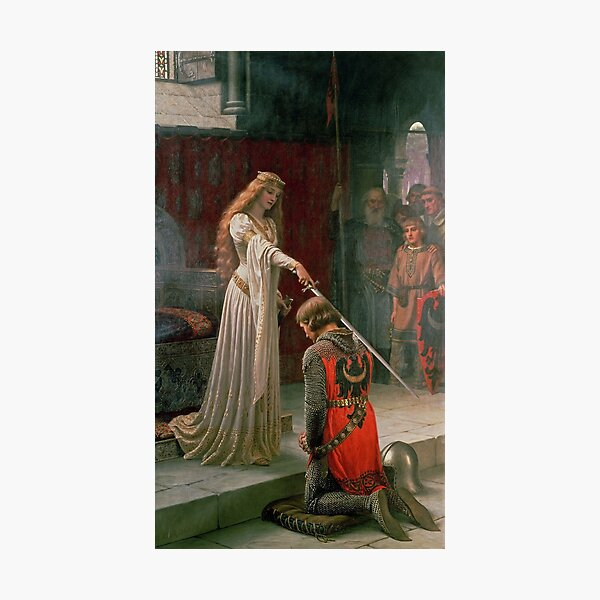 The Accolade by Edmund Blair Leighton, c. 1901 Photographic Print