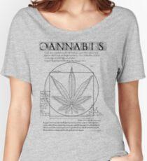 Vitruvian Cannabis Women's Relaxed Fit T-Shirt