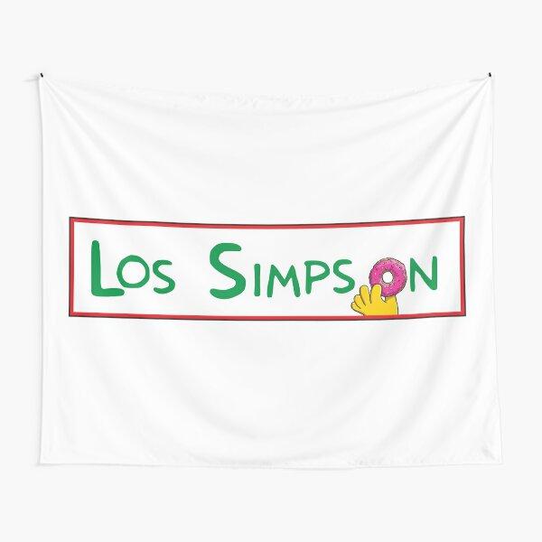 los Simpson Tela decorativa