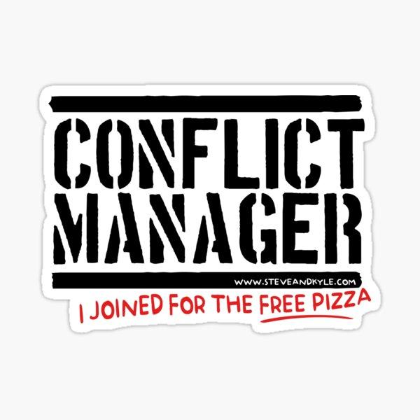 steve kyle conflict manager Sticker
