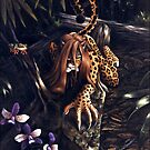 Makin' the Rounds - jaguar woman by ferinefire
