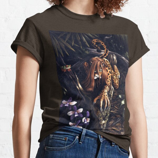 Makin' the Rounds - jaguar woman Classic T-Shirt