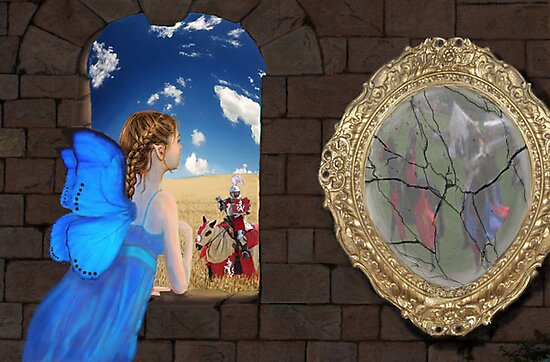 The Mirror Crack'd by Kestrelle