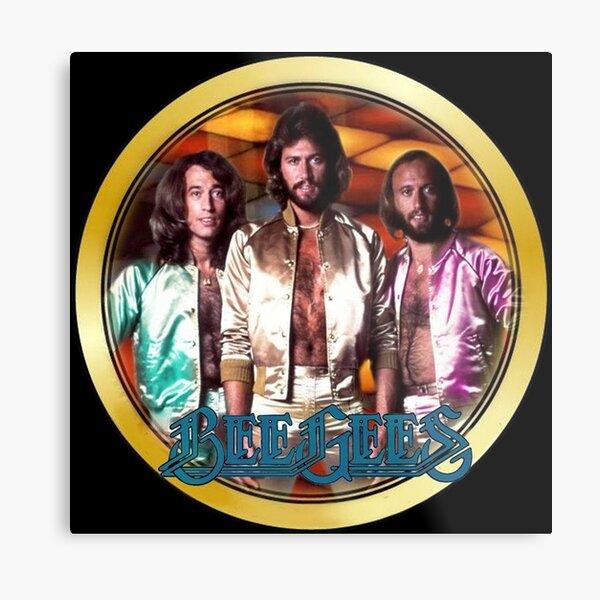 Vintage 1970's Bee Gees Custom Metal Print