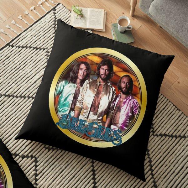 Vintage 1970's Bee Gees Custom Floor Pillow