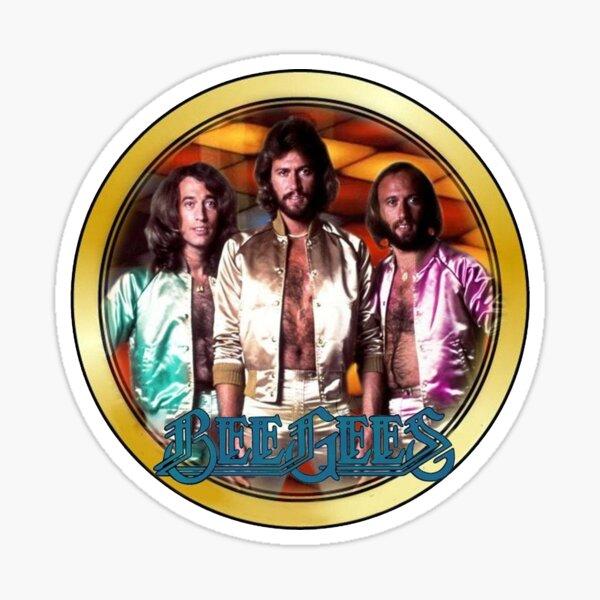 Vintage 1970's Bee Gees Custom Sticker