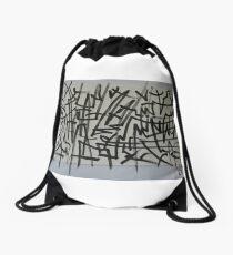White Heat Drawstring Bag