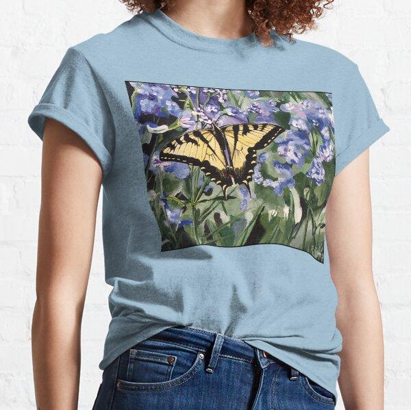 Yellow Swallowtail Butterfly Classic T-Shirt