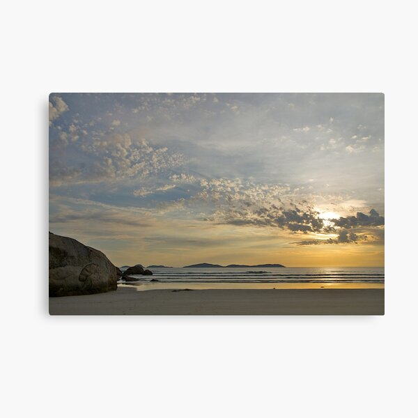 Evening at Wilsons Promontory, Victoria. Canvas Print