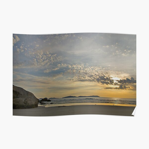 Evening at Wilsons Promontory, Victoria. Poster
