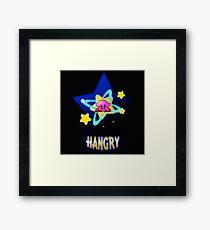 Hangry Kirby Framed Print