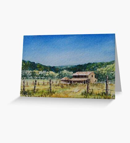 Hunter Valley Summer Greeting Card