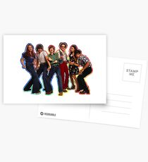 That 70s Show The Gang Tie Dye Postcards