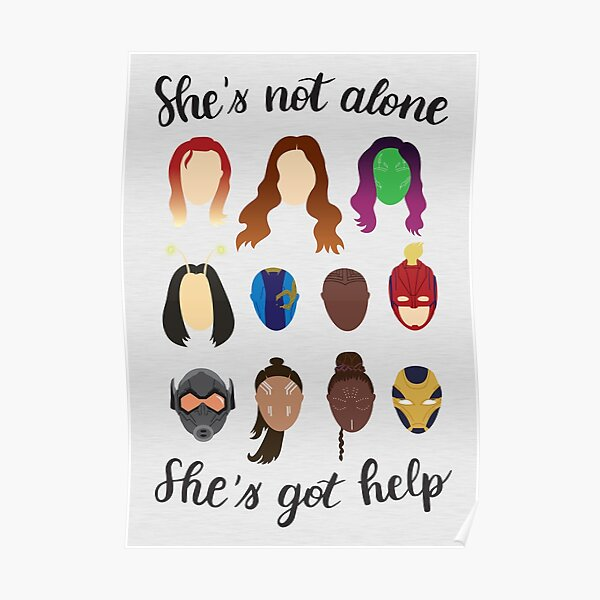 She's got help Poster