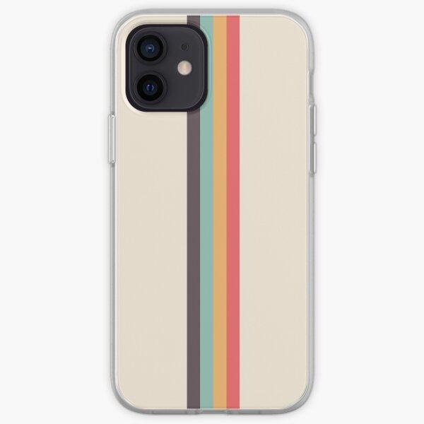 Retro Rainbow Stripe iPhone Soft Case