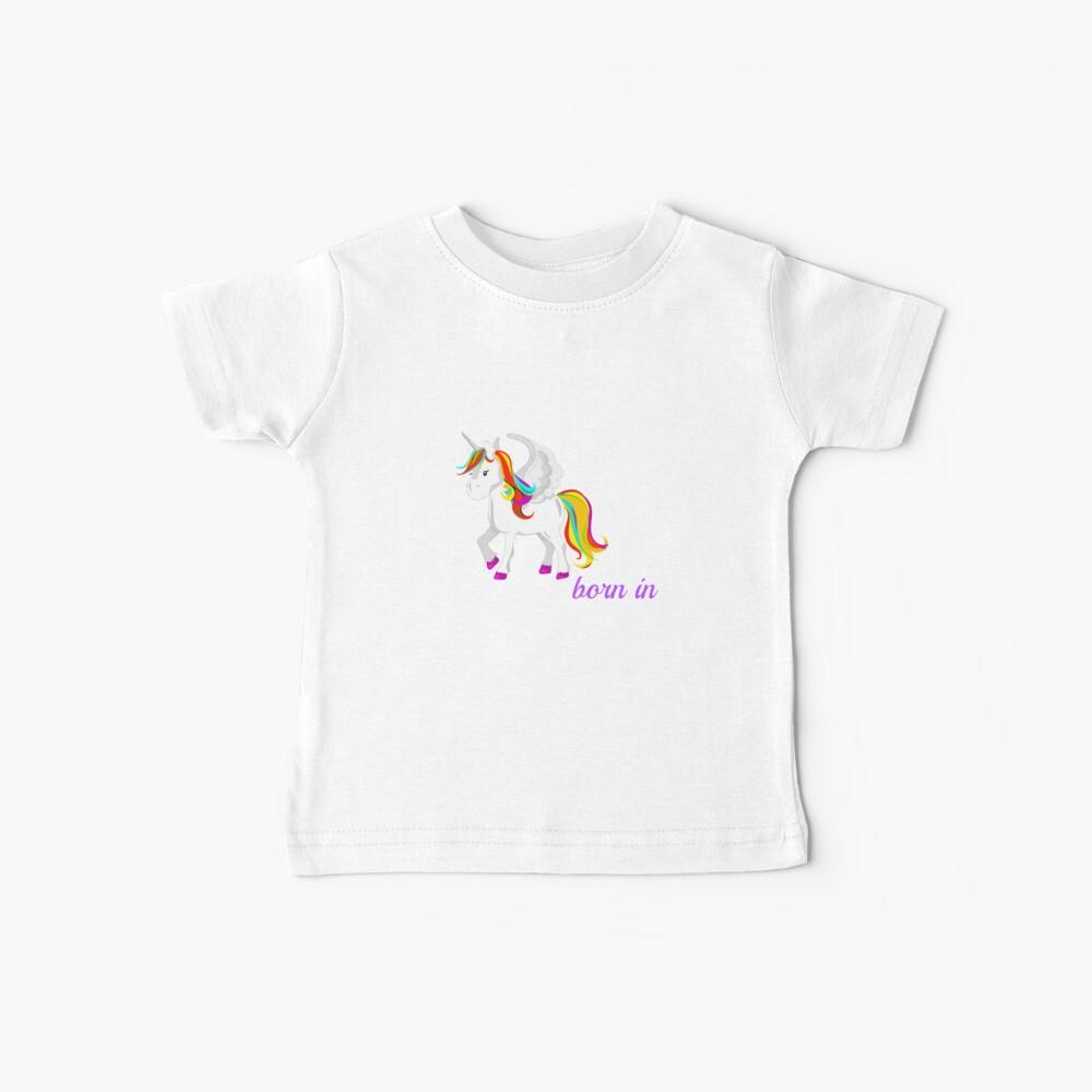 Einhorn geborenknnorthoklahoma Baby T-Shirt