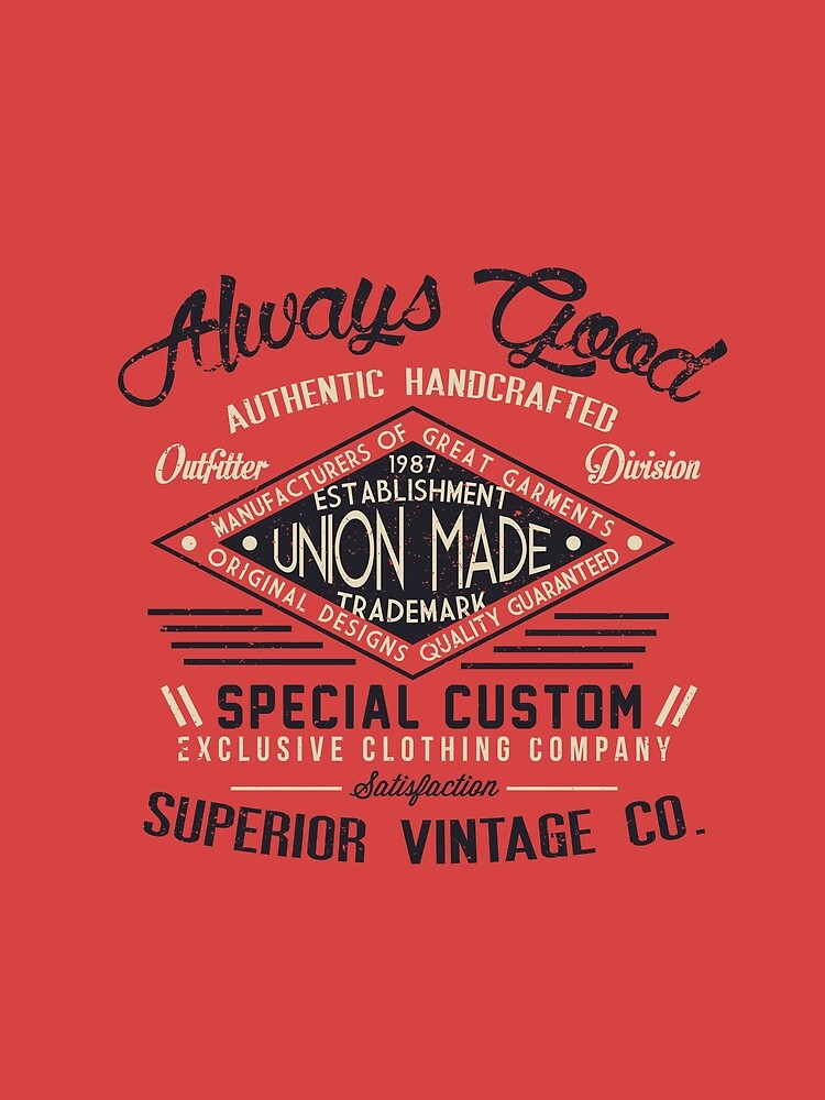 Always Good Vintage Superior by Chocodole