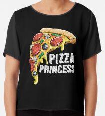 Pizza Princess Chiffon Top