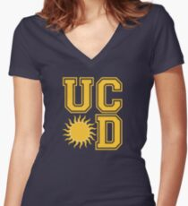 UC Sunnydale Women's Fitted V-Neck T-Shirt