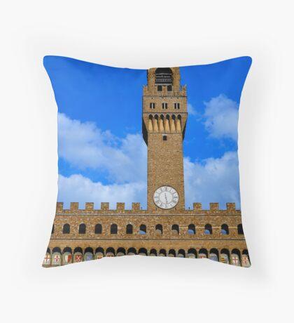 Palazzo Vecchio I Throw Pillow