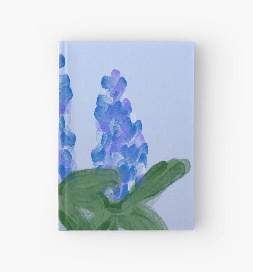 Watercolor Blue Bonnet by elledeegee