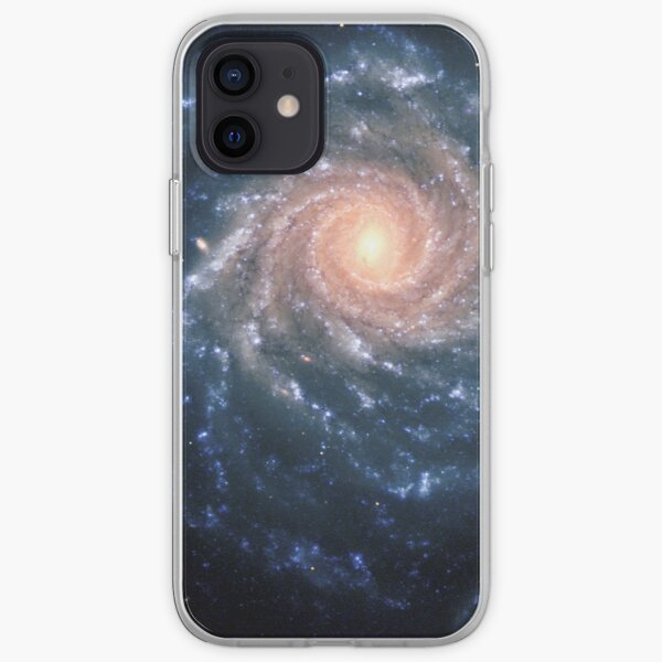 #Spiral #Galaxy #SpiralGalaxy #MilkyWay , Astronomy, Cosmology, AstroPhysics, Universe iPhone Soft Case