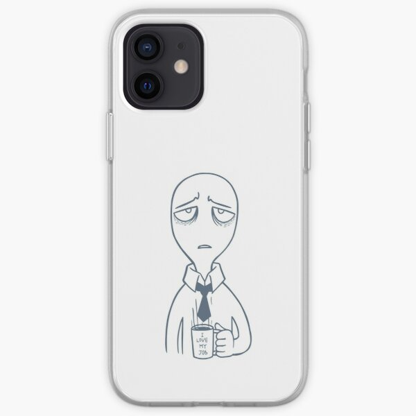 I Love My Job. Yeah Right. iPhone Soft Case
