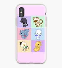 Cute Kittens with Wings! iPhone Case