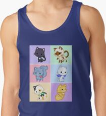 Cute Kittens with Wings! Tank Top