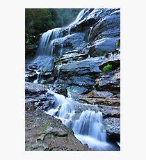 Bridal Veil Falls, Blue Mountains, NSW Photographic Print